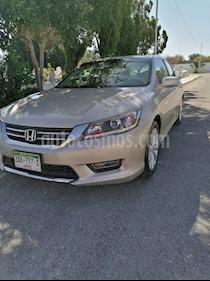 Honda Accord EX-L 2.4L usado (2013) color Blanco Marfil precio $165,000