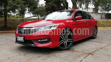 Honda Accord 4P SPORT L4 CVT CAMARA REVERSA RA-16 usado (2016) color Rojo precio $255,000