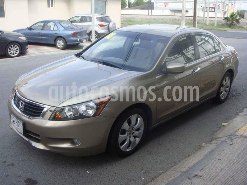 Honda Accord EX-S 2.4L usado (2008) color Dorado precio $118,000