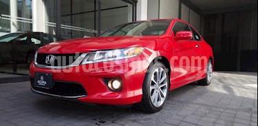 Honda Accord 2P EX COUPE V6 TA A/AC. AUT. QC PIEL F. NIEBLA GP usado (2014) color Rojo precio $239,000