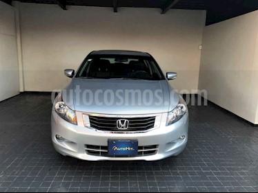 Honda Accord 4p EX sedan V6 piel ABS q/c CD usado (2008) color Plata precio $139,000