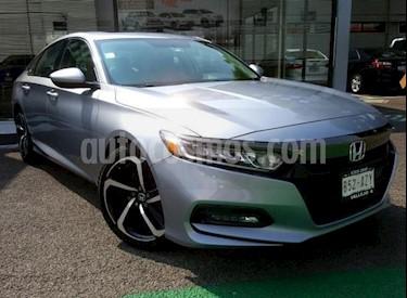 Honda Accord Sport Plus usado (2018) color Plata precio $345,000