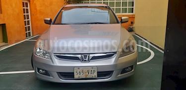 Honda Accord LX 2.4L usado (2007) color Gris precio $80,000