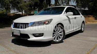 Honda Accord 2P EX COUPE V6 TA A/AC. AUT. QC PIEL F. NIEBLA GP usado (2013) color Blanco precio $159,000