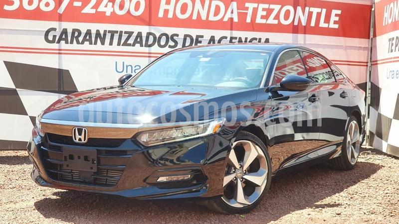 Honda Accord Touring usado (2019) color Negro precio $510,400