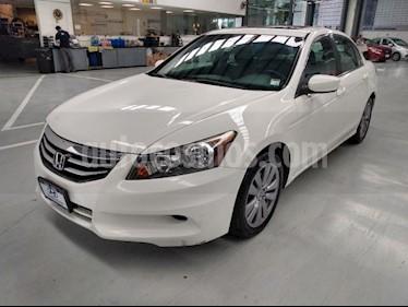 Honda Accord 4P EX L4 TA A/AC. AUT. 6 CD QC PIEL RA-17 usado (2011) color Blanco precio $130,000