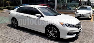 Honda Accord 4P SPORT L4 CVT CAMARA REVERSA RA-16 usado (2017) color Blanco precio $309,000