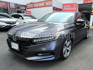 Honda Accord Touring usado (2018) color Acero precio $456,000