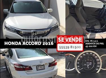 Honda Accord EX-L 3.5L V6 usado (2016) color Blanco precio $279,000