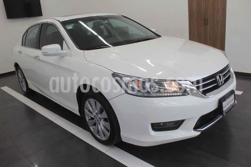 Honda Accord EXL Navi usado (2014) color Blanco precio $189,000