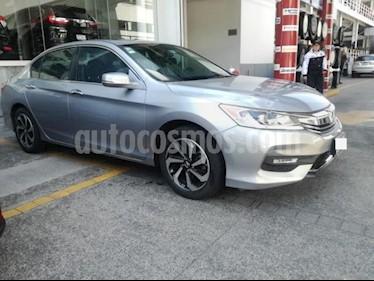 Honda Accord 4P EXL L4 CVT A/AC. AUT. QC PIEL GPS F. NIEBLA RA usado (2016) color Plata precio $285,000