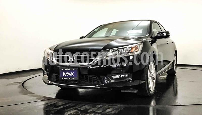 Honda Accord EX-L 3.5L V6 usado (2015) color Negro precio $252,999