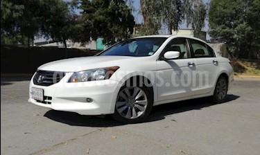 Honda Accord 4P EX V6 TA A/AC. AUT. 6 CD QC PIEL F. NIEBLA RA- usado (2012) color Blanco precio $169,000
