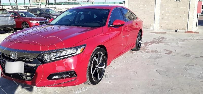 Honda Accord Sport Plus usado (2018) color Rojo precio $415,000
