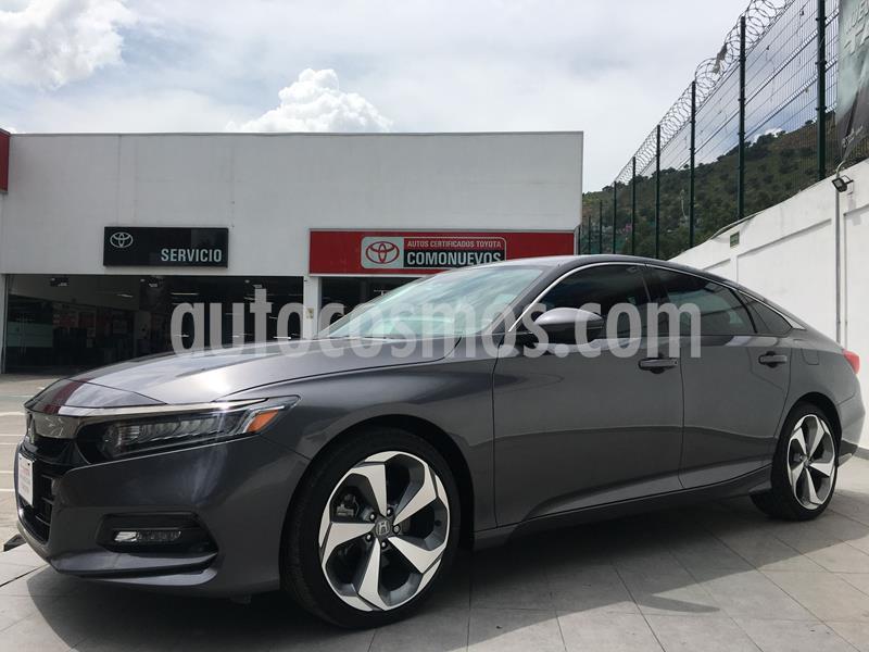 Honda Accord Touring usado (2019) color Gris Oscuro precio $450,000