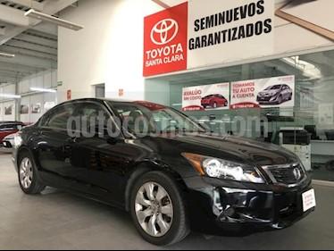 Honda Accord 4P EX L4 TA A/AC. AUT. 6 CD QC PIEL RA-17 usado (2010) color Negro precio $120,000