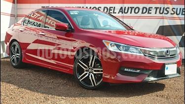 Honda Accord Sport usado (2017) color Rojo precio $299,000