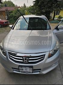 Honda Accord EX-L 2.4L usado (2011) color Plata precio $130,000