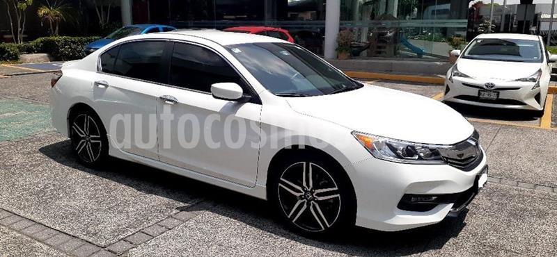 Honda Accord Sport usado (2017) color Blanco precio $319,000