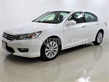 Honda Accord 4p EXL Sedan V6/3.5 Aut usado (2015) color Blanco precio $235,000