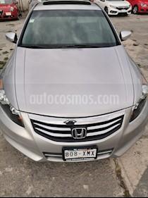 Honda Accord EX 3.0L V6 usado (2011) color Plata precio $138,000
