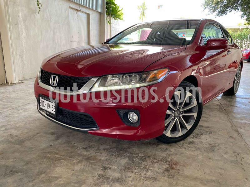 Honda Accord Coupe EX 3.5L usado (2014) color Rojo precio $200,000