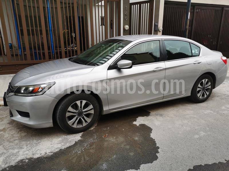 Honda Accord LX 2.4L usado (2014) color Plata precio $189,500