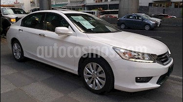 Honda Accord 4p EXL Sedan V6/3.5 Aut usado (2015) color Blanco precio $235,000
