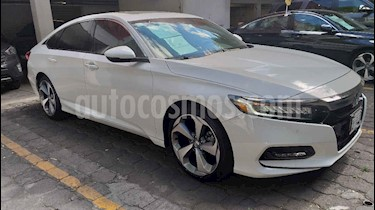 Honda Accord 4p Touring Sedan L4/2.0 Aut usado (2019) color Blanco precio $497,000