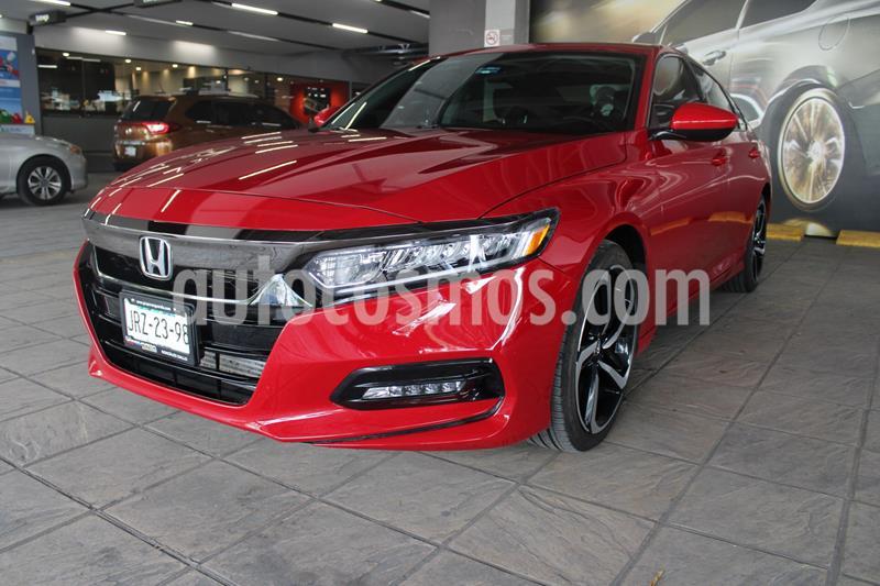 Honda Accord Sport Plus usado (2020) color Rojo precio $495,000
