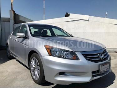 Honda Accord 4P EX L4 TA A/AC. AUT. 6 CD QC PIEL RA-17 usado (2011) color Plata precio $147,000