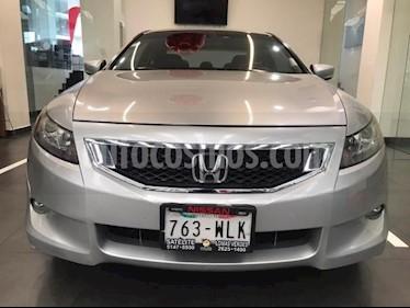 Honda Accord 2P EX COUPE V6 TA A/AC. AUT. 6 CD QC PIEL F. NIEB usado (2009) color Plata precio $125,500