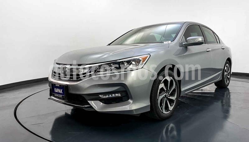 Honda Accord EX-L 2.4L usado (2016) color Plata precio $282,999