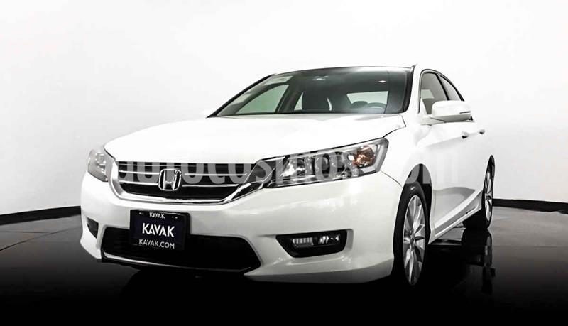 Honda Accord EX-L 3.5L V6 usado (2015) color Blanco precio $259,999