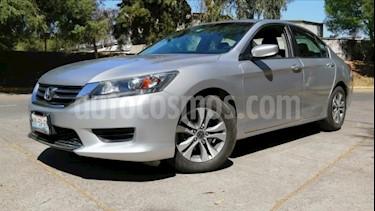 Honda Accord 4P LX L4 CVT RA-16 usado (2014) color Plata precio $185,000