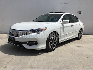 Honda Accord EXL Navi usado (2016) color Blanco precio $250,000