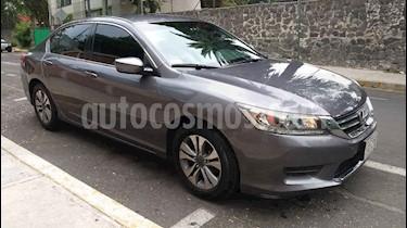 Honda Accord 4p LX Sedan L4/2.4 Aut usado (2014) color Gris precio $193,000