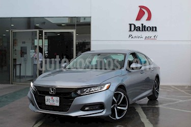 Honda Accord Sport usado (2018) color Plata precio $449,000