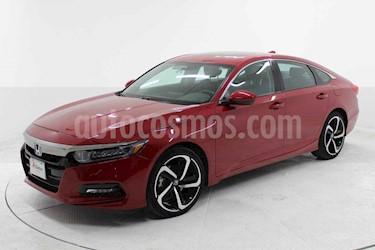 Honda Accord 4p Sport Sedan L4/1.5 Aut usado (2019) color Rojo precio $469,000