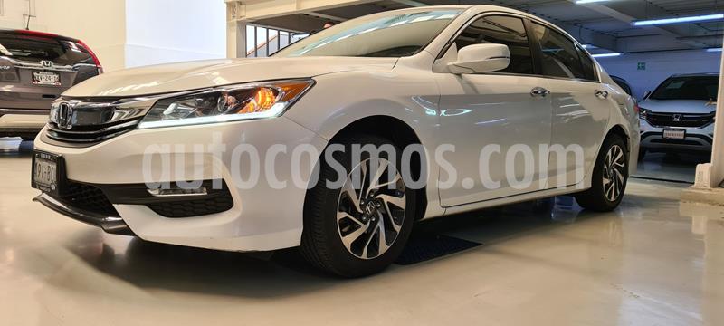 Honda Accord EX 2.4L usado (2016) color Blanco precio $264,100