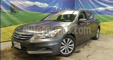 Honda Accord 4P EX L4 TA A/AC. AUT. 6 CD QC PIEL RA-17 usado (2012) color Gris precio $149,000