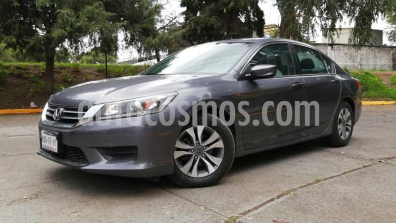 Honda Accord 4P LX L4 CVT RA-16 usado (2014) color Gris precio $175,000