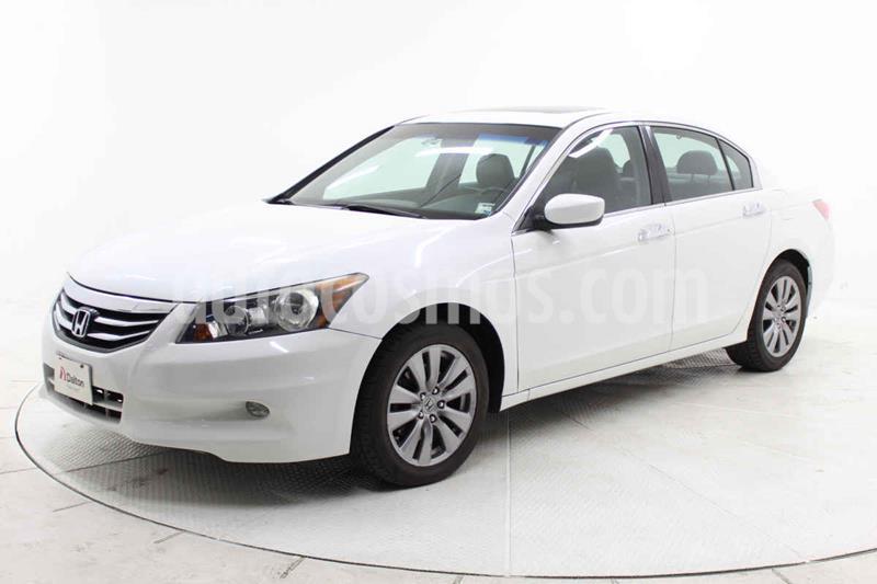 Honda Accord 4p EX sedan V6 piel ABS q/c CD usado (2012) color Blanco precio $163,000