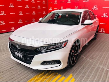 Honda Accord Sport usado (2018) color Blanco precio $449,000