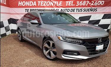 Foto venta Auto usado Honda Accord Touring (2018) color Plata Diamante precio $488,000