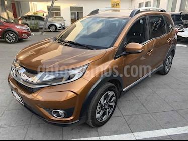Honda BR-V Prime Aut usado (2019) color Cafe precio $285,000