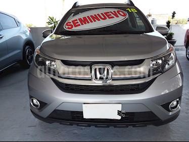 Honda BR-V Prime Aut usado (2018) color Plata precio $295,000