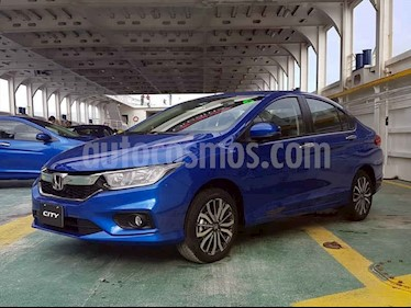 Foto venta Auto usado Honda City 4p LX L4/1.5 Aut (2018) color Azul precio $266,005