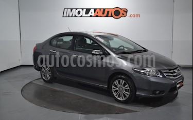 Honda City EXL Aut usado (2014) color Gris precio $560.000