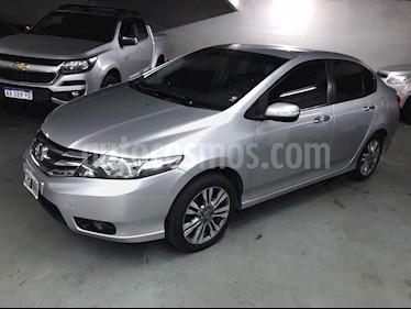 Honda City EXL usado (2013) color Plata Alabastro precio $649.000